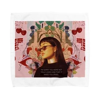 girlll♡ Towel handkerchiefs