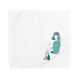 サブカル女子 Towel handkerchiefs