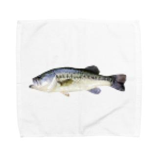 モザイクフィッシュ Towel handkerchiefs