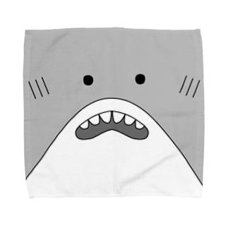 さめ Towel handkerchiefs