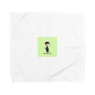 アイスとハックス Towel handkerchiefs