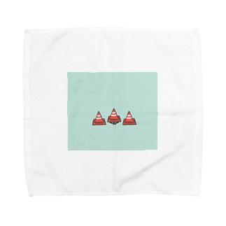 かくれんぼ(カラーコーンver) Towel handkerchiefs