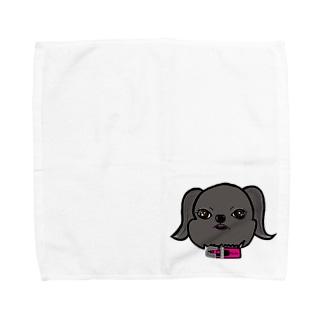 寧々goods(ベルジアングリフォン) Towel handkerchiefs