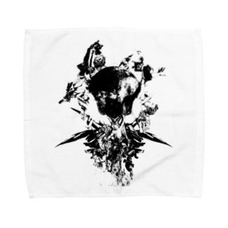 フォトコラージュグラフィック#1 Towel handkerchiefs