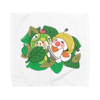 おひるねばぐずぅ Towel handkerchiefs