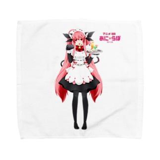 秋田町子グッズ Towel handkerchiefs