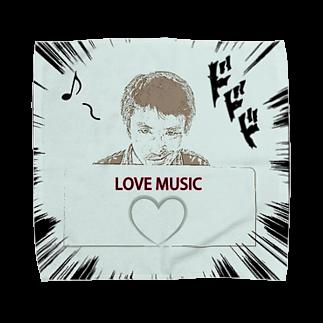 Kengo Kitajimaのダーク良太(LOVE MUSIC) Towel handkerchiefs