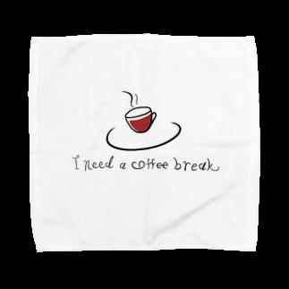 helloのcoffee break  Towel handkerchiefs
