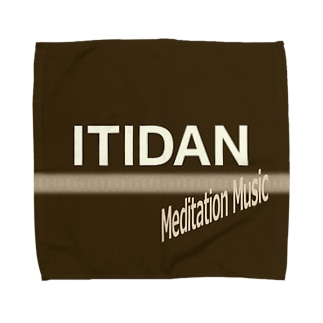 ITIDAN Meditation Music Towel handkerchiefs