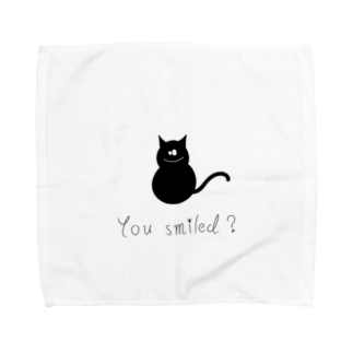 helloの猫 Towel handkerchiefs