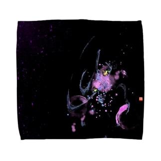 紫陽花-ajisai- Towel handkerchiefs