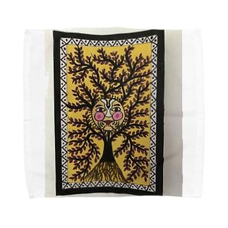 マドゥバニアートギャラリー Towel handkerchiefs