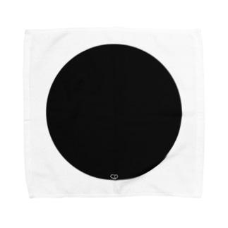 Black En Towel handkerchiefs