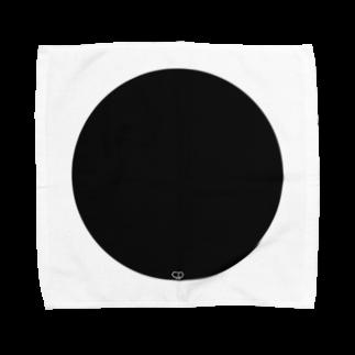 SYMBOLのBlack En Towel handkerchiefs