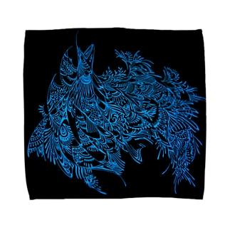 アバラ Towel handkerchiefs