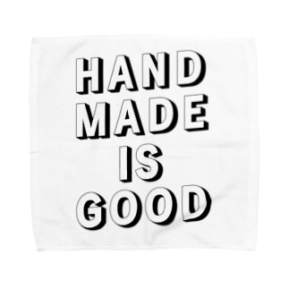 HANDMADE IS GOOD Towel handkerchiefs