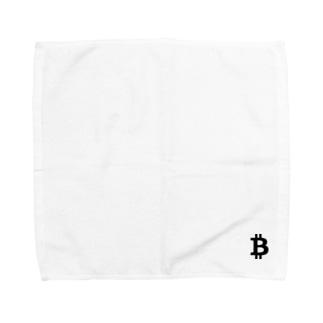 ビットコイン Towel handkerchiefs