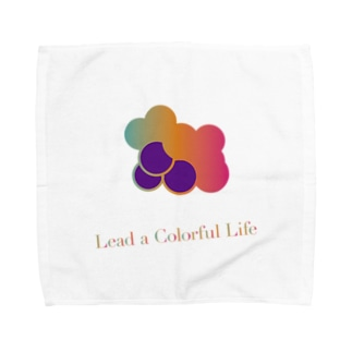 Colorful Grapes ver2.0 Towel handkerchiefs