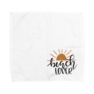 ビーチラバーズ Towel handkerchiefs