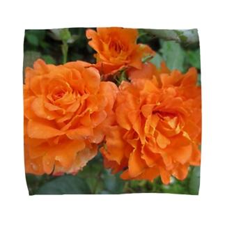 ローズNo.5 Towel handkerchiefs