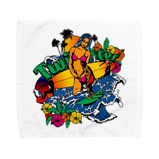 TWISTER Towel handkerchiefs