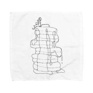 パンケーキと男の子 Towel handkerchiefs
