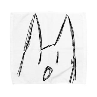 ぶれる猫 Towel handkerchiefs