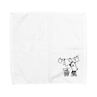 お洗濯偏食ブラザーズ Towel handkerchiefs