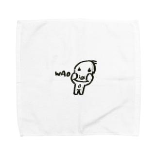 ワオちゃん Towel Handkerchief