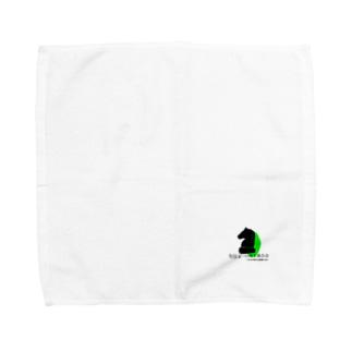全日本一口馬主連合会 公式グッズ 黒 Towel handkerchiefs