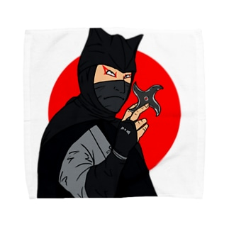 怪傑黒頭巾 Towel handkerchiefs