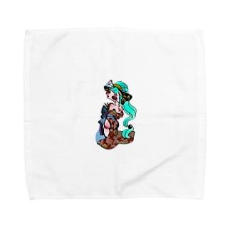 花魁 シリーズ(リクエスト) Towel handkerchiefs