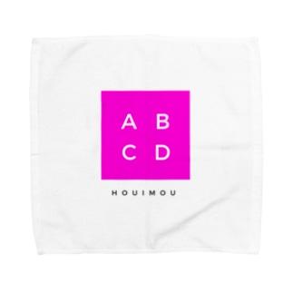 ABCD包囲網 Towel handkerchiefs
