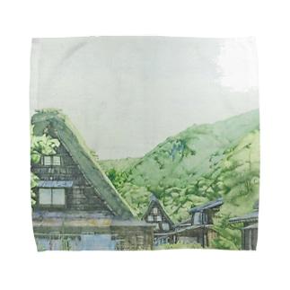 白川郷 Towel handkerchiefs