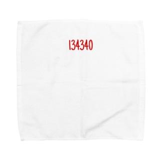 134340 Towel handkerchiefs