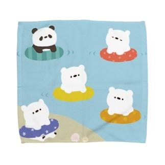 継続支援プラスタの海水浴 Towel handkerchiefs