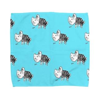 りあねこ Towel handkerchiefs