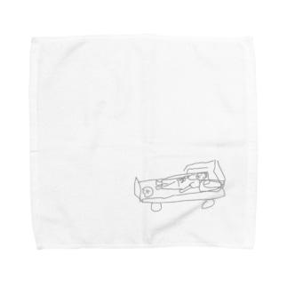 おじいちゃんの入院 Towel handkerchiefs