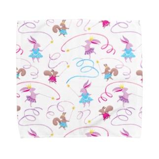 ribbon dance Towel handkerchiefs