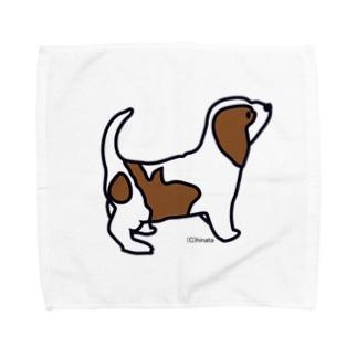 子犬 Towel handkerchiefs