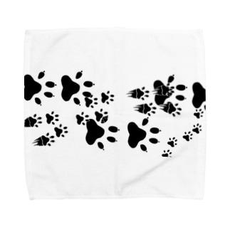 わんこ通過 Towel handkerchiefs