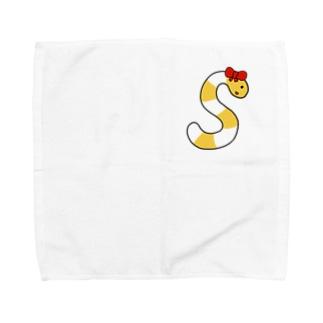 スキーマちゃん Towel handkerchiefs