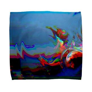 Glitches01 Towel handkerchiefs