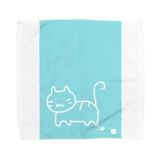 ねここ Towel handkerchiefs