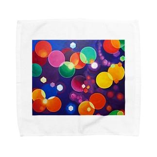 HAPPY HOLiDAYS Towel handkerchiefs