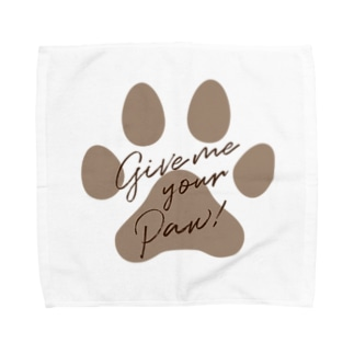 Give me your Paw! 肉球シリーズ Towel handkerchiefs