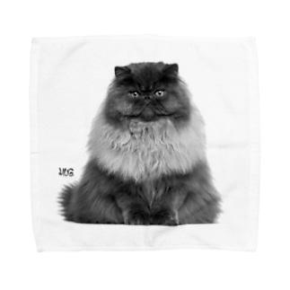 The Cat King Towel handkerchiefs