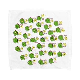 ギャのっぴーいっぱい Towel handkerchiefs
