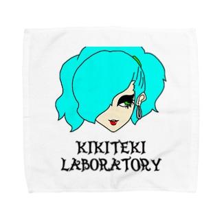 PONITE GAL ミント×黄緑 Towel handkerchiefs
