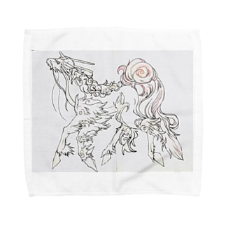 ユニコーン Towel handkerchiefs